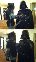 Vader's new recruit by TheModernDayLink
