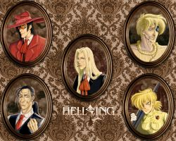 The Hellsing Family by tchintchie