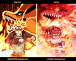 Naruto And Natsu  Collab  By Magooode-d8muczz by afran67