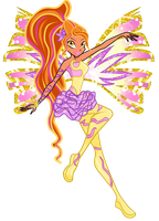 winx:Claudine sirenix *new (underwater) by caboulla