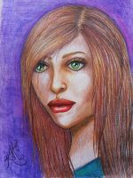 My second colored pencil drawing by katklich