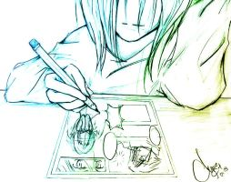 My Dream ... Mangaka by LiLAyane