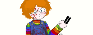 Chucky no like you by That-Love-Voodoo