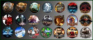 Game Icons X by sirithlainion
