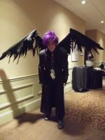Motaku 2012 - DN Angel (wings! xD) by Ashleyartsy