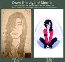 Draw This Again! Meme: Michael Jackson by CutieInk