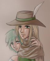 Soerl and Lydia by TheCatlady