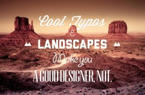 The secret to good typography, not by b4ddy