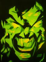 THE ANGRY GREEN GIANT by JJShaver
