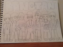 Bangtan Boys by nessaaa95