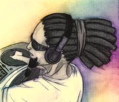 Reggae DJ by josephs-sky