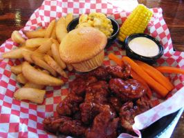 Famous Dave's Boneless Wings by BigMac1212