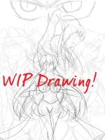 WIP DRAWING- Spirits of the New Moon Cover by AnimeEmm