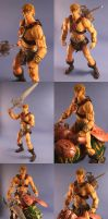 Custom He-man superarticulated by Mace2006