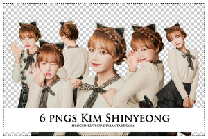 PNGs Pack Kim Shinyeong by Heoconkutecu