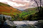 View from Pistyll Rhaeadr by B-Jones