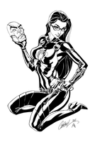 Baroness - inks by J-Skipper