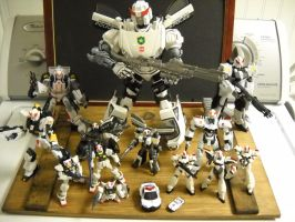 Transformers custom Prowl figure collection by Prowlcop