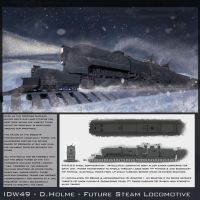Nuclear Locomotive by North-Steading