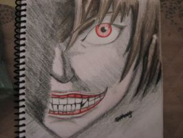 Light Yagami (Death Note) by TheGaboefects