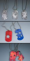 Dog Tag Series by wilson419