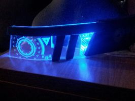 Garrus Visor lasercut by Alexwazz