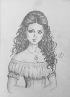 the girl of middle ages) by SunriseRain