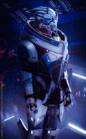 Garrus Cosplay I by HoldW