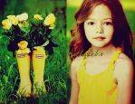 Yellow for the pretty girl by KathyWebs