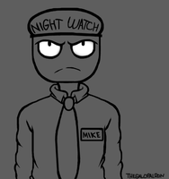 Mike the Possessed Guard by rons13