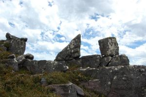 Right Angle Triangle Rock by DruidWuStock