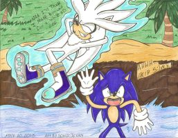 why not wiat for a bit lol by SONICJENNY