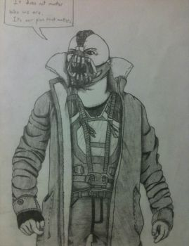 Bane from Batman by YouDidThatOnPurpose