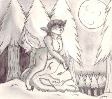Howling Rock -Wolf TF- by TimidTabby84