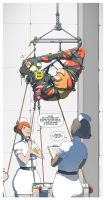 Jo in the Institute 4 by ElijahPink
