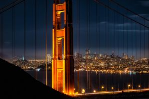 San Franciscco, beyond the wire by alierturk