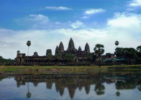 Angkor Wat Cambodia by SheltieWolf