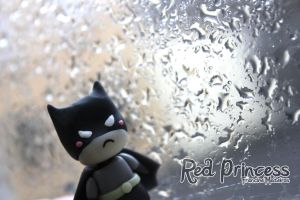 Batman e a chuva by theredprincess