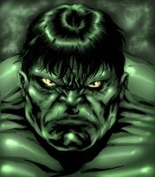 Hulk by Art-Of-Malacai-Brown