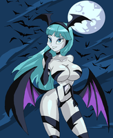 Morrigan's Cat Suit by Ninjaspartankx5
