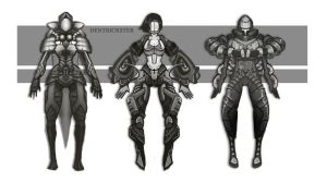 Concept costumes by DenTrickster