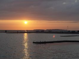 West Kirby sunset by piglet365