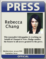Rebecca Chang's ID from Dead Rising 2 and OTR by SOLIDCAL