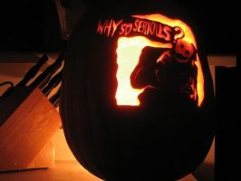 The Joker - 2008 by SmithPumpkinCarver