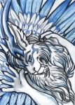 ACEO: The White One by vladimirsangel