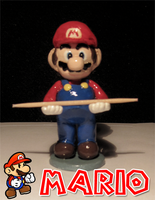 Polymer Super Mario Figure by thuykim