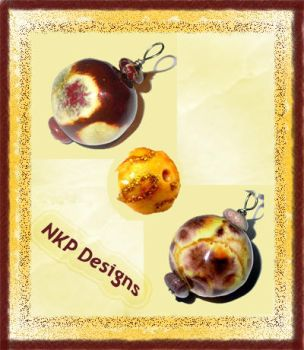 Golden shades by nkpdesigns by Beads-of-Clay