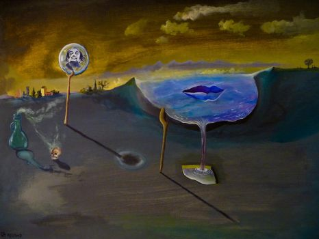 TRAPPED DALI MADNESS by artchby