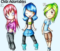 Chibi Adoptables [CLOSED] by Alyxander12