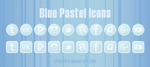 Blue Pastel icons by Zmei-Kira